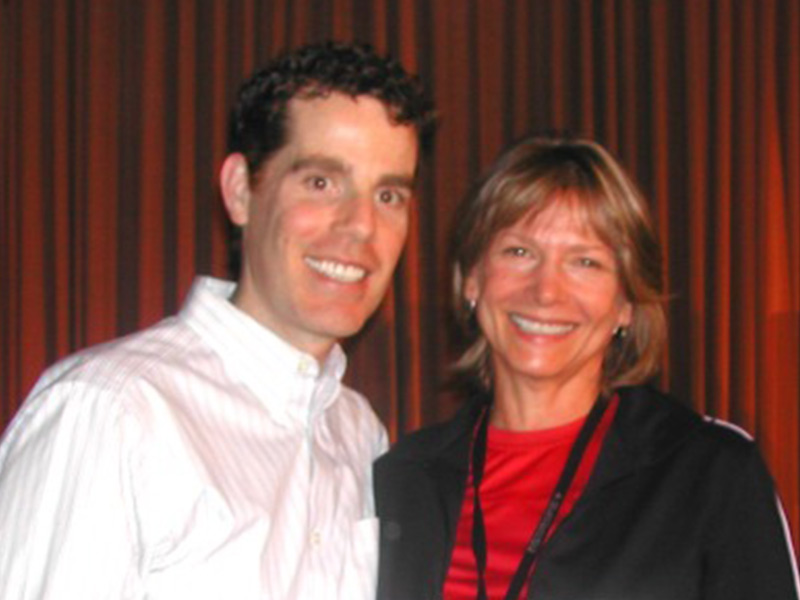 With Matt Lederman, MD - star of the film Forks Over Knives