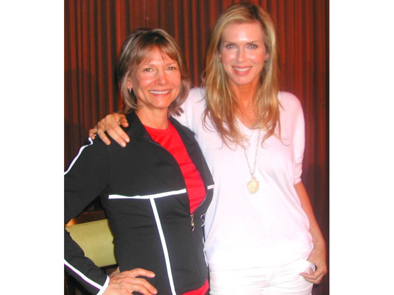 Lani Muelrath with Kathy Freston