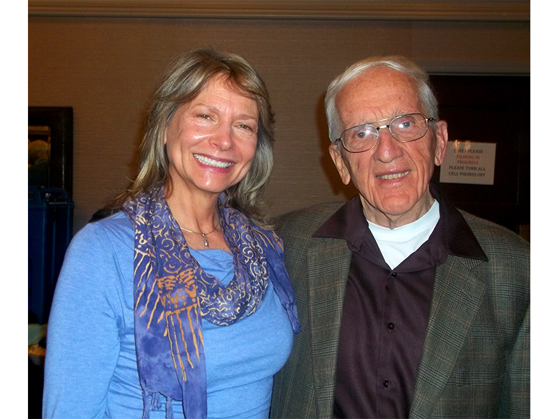With the honorable Dr. T. Colin Campbell