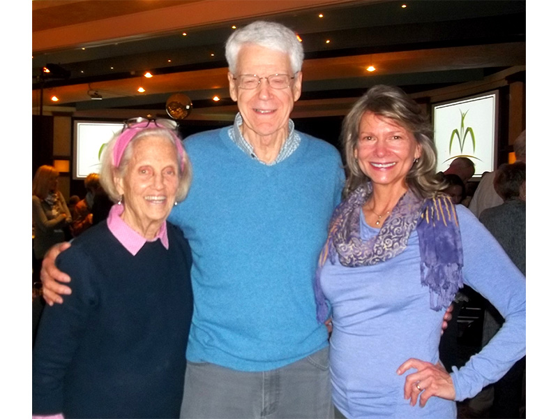Meeting up with Ann and Dr. Caldwell Esselstyn at the McDougall Advanced Study Weekend