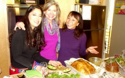 A Vegan Potluck Thanksgiving with the famous UnTurkey by Miyoko (videos!)
