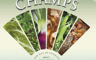 The Veggie Queen's Nutrition CHAMPS cookbook and giveaway