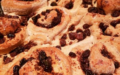 Brain Health, Mindfulness, Alaska, and Cinnamon Buns (recipe!)
