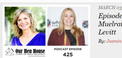 Our Hen House Podcast #425: The Mindful Vegan and Lani Muelrath