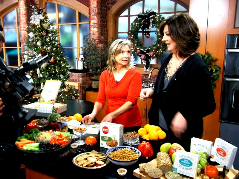 Plant-Based Party Snack Ideas with Lani Muelrath on CBS TV (video!)