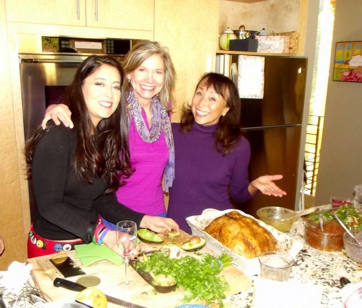 A Vegan Potluck Thanksgiving with the famous UnTurkey by Miyoko (videos!)