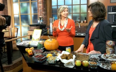 Whole Foods Plant-Based Holiday Eats with Lani Muelrath on CBS TV (video!)