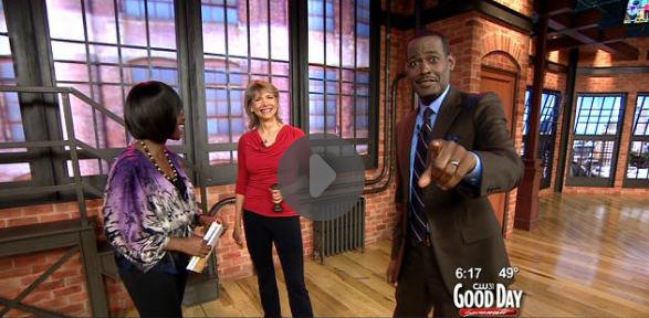 CBS TV Good Morning Sacramento Fit Quickies feature:  Triceps Triple Play