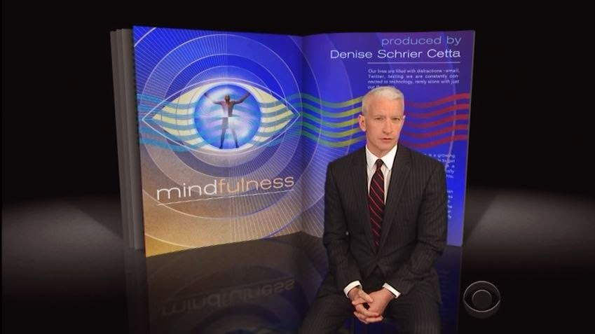 Anderson Cooper Features Mindfulness Meditation On 60 Minutes (video)