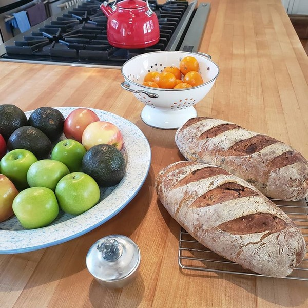 Rustic Rosemary Artisan Bread And Pumpkin Tart With Oat Crust Recipes