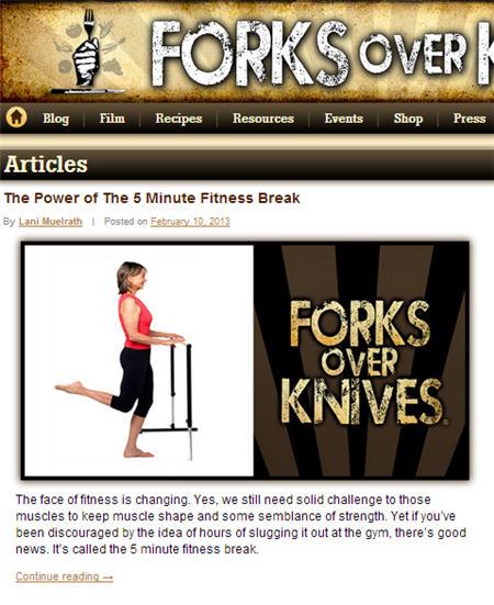 Forks Over Knives called…