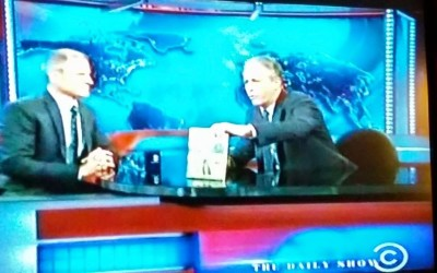 Gene Baur, Farm Sanctuary cofounder and president on The Daily Show with Jon Stewart