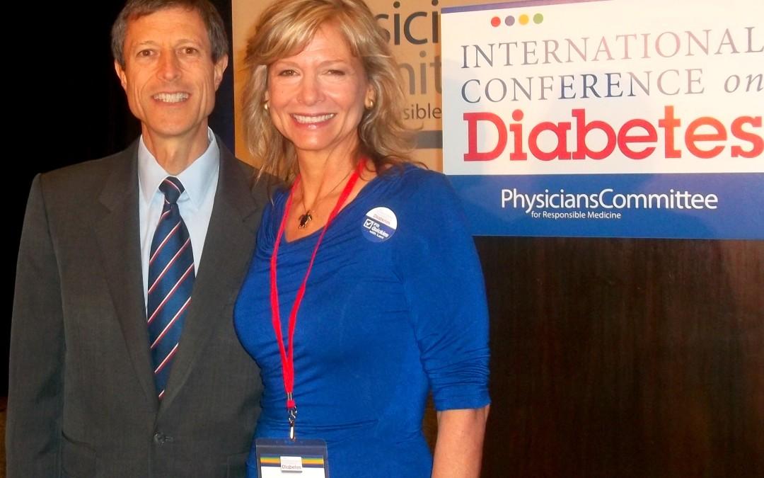 Sharing the stage with Neal Barnard, Brenda Davis, Frank Hu, John McDougall…PCRM International Conference on Diabetes report