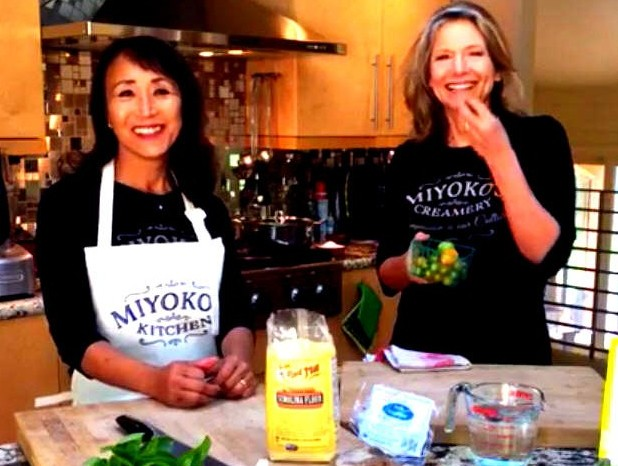 How to Make Italian Pasta with Miyoko Schinner and Lani Muelrath (video!)