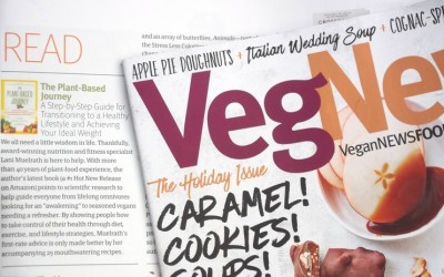 The Plant-Based Journey Featured in VegNews Magazine Best Books