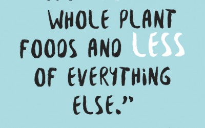 Overwhelmed By Overchoice?  It's Time To Get Back To Plant-Based Basics