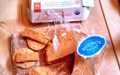 Best holiday giveaway ever – a gift box of upscale non-dairy artisan cheese from Miyoko's Kitchen